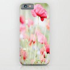 Poppy pastels Slim Case iPhone 6s