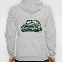 Crazy Car Art 0142 Hoody