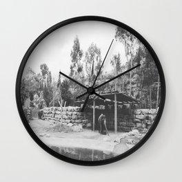 Elephant Land Wall Clock