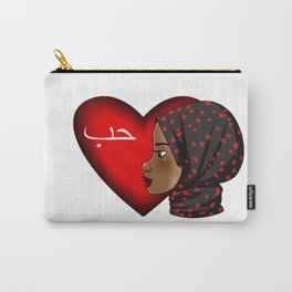 Hijab Love Carry-All Pouch
