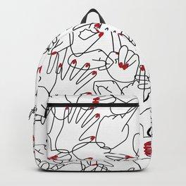 HANDS / pattern pattern Backpack