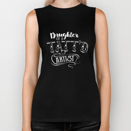 Daughter Of A Tattoo Artist Biker Tank