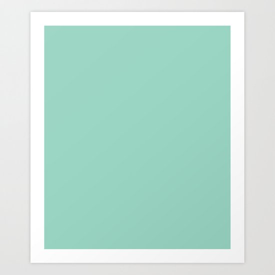 Monocolor Mint Green by tafida