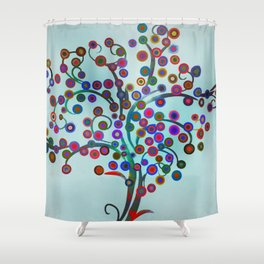 Surreal Tree 3 Shower Curtain