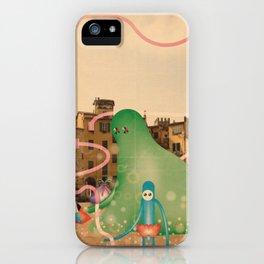 lucca è abitata dai mostri 2 iPhone Case