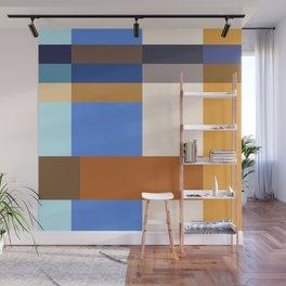 Seasonal Color Block Wall Mural