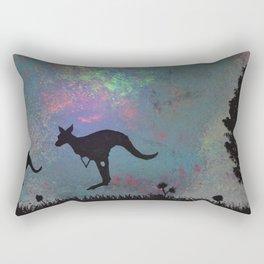 Kangaroo fun <3 Rectangular Pillow