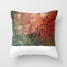 The Light is changing colour.... Throw Pillow