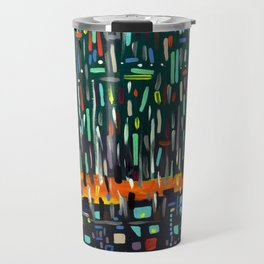 Mysterious forest Travel Mug