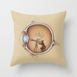 Extraordinary Observer Throw Pillow