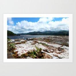 Wall Blur | Pull Focus Seaside Photography Art Print