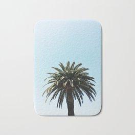 Palm Tree in San Diego, California Bath Mat