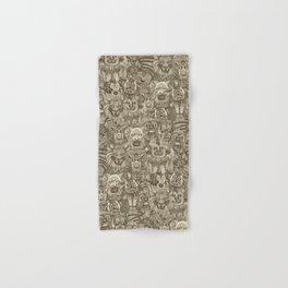 gargoyles vintage Hand & Bath Towel