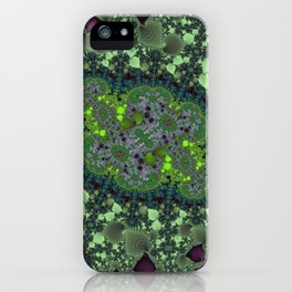 Fractal Fairy Ring iPhone Case