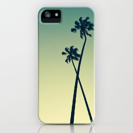 Palm Tree Hug - Los Angeles iPhone Case