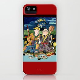 Sushi By The Sea Of Tea iPhone Case