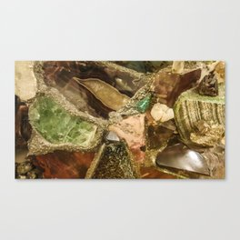 Gems collection 5 Canvas Print