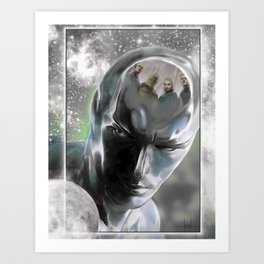 FF Surfer Art Print