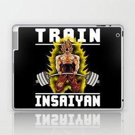 TRAIN INSAIYAN (Goku Deadlift) Laptop & iPad Skin