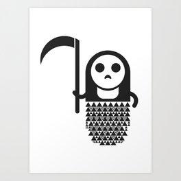 Monztar Death Art Print