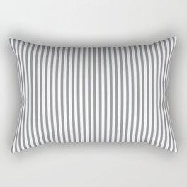 Sharkskin Stripes Rectangular Pillow