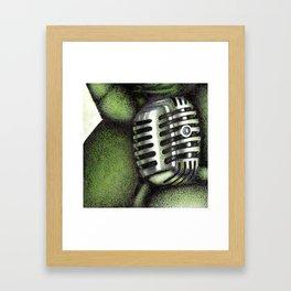 The Crooning Cougar Part 2 Framed Art Print