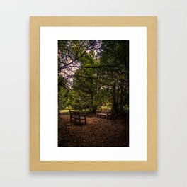 Two of us going nowhere Framed Art Print