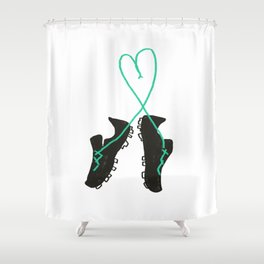 Futbol Love Shower Curtain