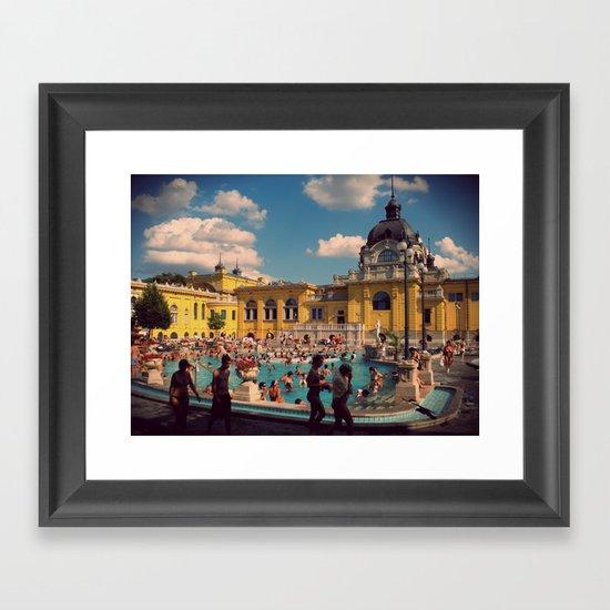 Turkish Baths Framed Art Print