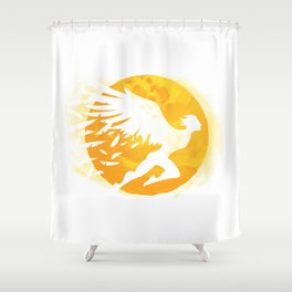Icarus Shower Curtain