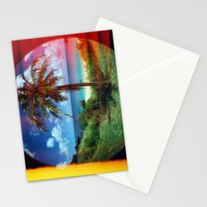 Coconut Tree Stationery Cards