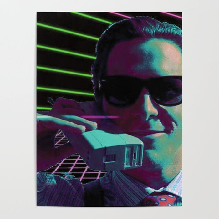 American Psycho calling Poster