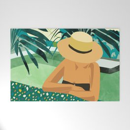 Chill #illustration #travel Welcome Mat