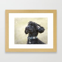 Did You Say Cookie? Framed Art Print