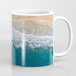 Water on the Beach (Color) Coffee Mug
