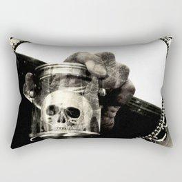 Confronting Death Rectangular Pillow