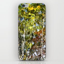 Abstract Tree Reflection iPhone Skin