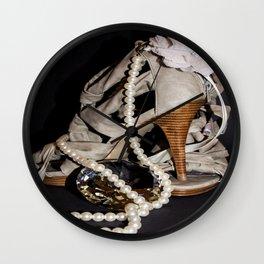 Pretty Shoes. Wall Clock