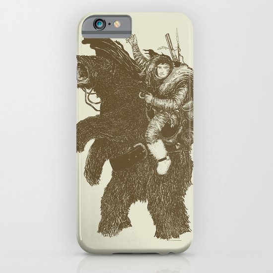 Bearpoleon iPhone & iPod Case