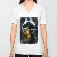 child V-neck T-shirts featuring Thunder child by HappyMelvin