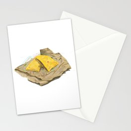 Beef Patty Stationery Cards