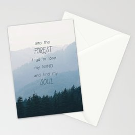 Forest and Soul Stationery Cards