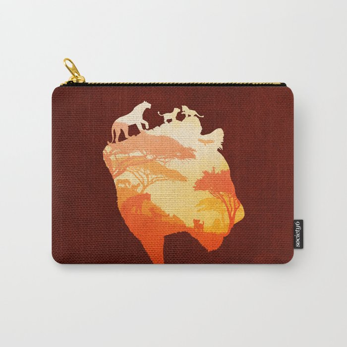 The Heart of a Lioness Carry-All Pouch