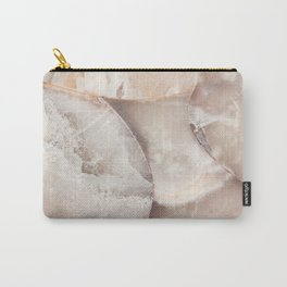 White Quartz Crystal Art Carry-All Pouch