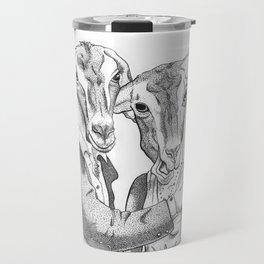 Goats Travel Mug