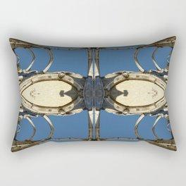 Castle fractal II Rectangular Pillow