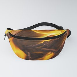 Fire and flames Fanny Pack