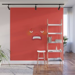 Frustrated Wall Mural