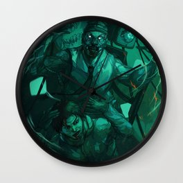 Shock Therapy Wall Clock