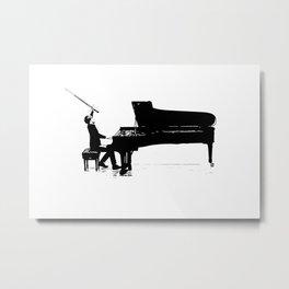 Piano Passion Metal Print